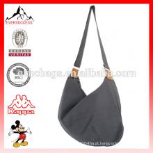 Bolsa de ombro de lona de bolsa de moda de venda quente para mulheres