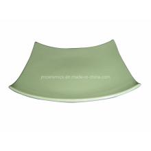 Plato de cerámica de la tabla cuadrada