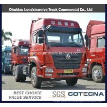 Camión de tractor de remolque de distancia corta 4X2 de uso especial de Puerto de Sinotruk