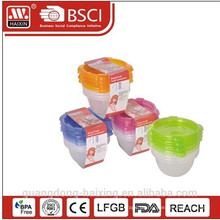 Kunststoff Mikrowelle Food Container 0.14L(1pc)