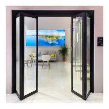 Color custom sales aluminum automatic folding door for restaurant Z20