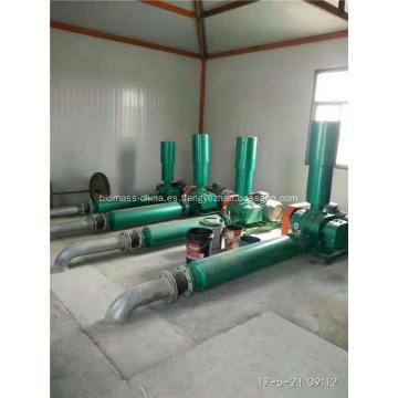 Soplador de raíces para tratamiento de aguas residuales de curtiduría