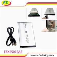 "2.5"" SATA External Hard Disk Drive Enclosure for Laptop HDD USB2.0 TO SATA hard disk box usb3.0 to SATA hard disk aluminum CASE"