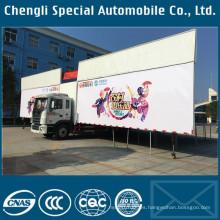 JAC fase móvil fase plataforma etapa de camiones para la venta