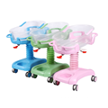 Best Selling  CE ISO ABS Medical Hospital COLORFUL Infant BABY COT Crib infant bed baby bed infant cot