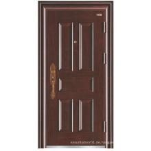 Deep Embossing Einfache Design Panel Stahl Sicherheit Tür