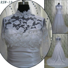 RSW-10 high quality 2011 Hot Sell New Design Ladies Fashionable Elegant Customized venice lace A-line Real Bridal Dress