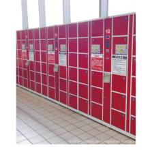 24 Türen Digital Electronic Barcode Stahl Schließfach