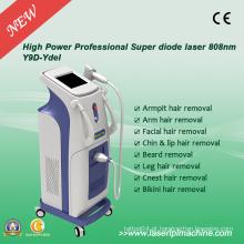 Máquina profissional da remoção do cabelo do laser do diodo 808 Nm do profissional