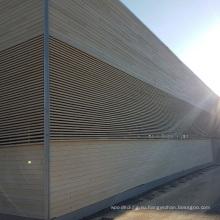 WPC составной деревянный сайдинг/водоустойчивые панели стены/наружные деревянные стены Плакирования