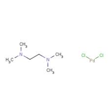 CAS 14267-08-4 DICHLORO(N,N,N',N'-TETRAMETHYLETHYLENEDIAMINE)PALLADIUM(II)