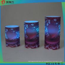 Luz elétrica exterior colorida da vela do bulbo da vela do diodo emissor de luz mini