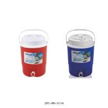 Boîte de refroidisseur en plastique portative, boîte de refroidisseur de nourriture, boîte de refroidisseur de déjeuner