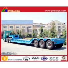 Multi-Axles Hydraulic Semi Trailer Lowbed Truck with Detachable Gooseneck