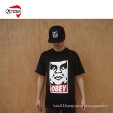 Print T -Shirt Tee and Cap (Z046)