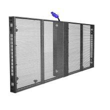 PH3.08-7.81Прозрачный стеклянный светодиодный дисплей 1000X500мм