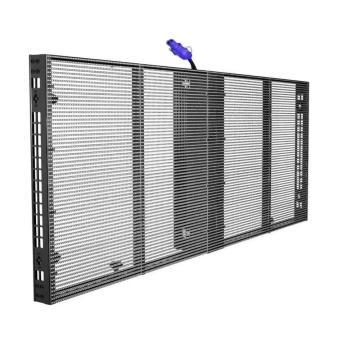 PH3.08-7.81Transparente Glas-LED-Anzeige 1000X500mm