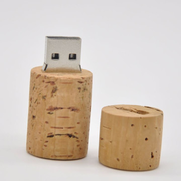 Cylinder Wood Design Unidad flash USB Light
