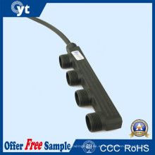 2 Pines Waterproof Connector 1 to 4 Cable Splitter