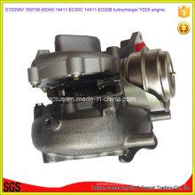 Gt2056V Yd25 Turbo 769708-5004s 14411-Ec00c 14411-Ec00b Turbocompresseur pour Nissan