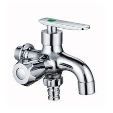 Bathroom dual function brass mop pool water mixer washing machine faucet
