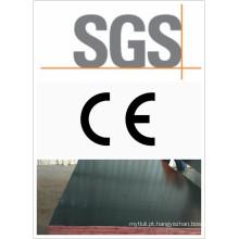 Contraplacado de filme preto com certificado CE