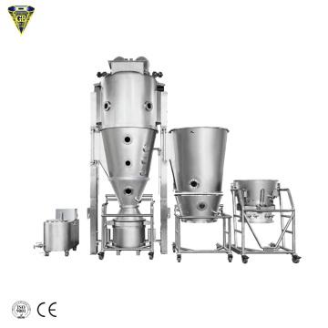fluid bed coffee roaster processor dryer granulator
