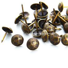Bronze Hammered Nails Decorations 11.5x17mm