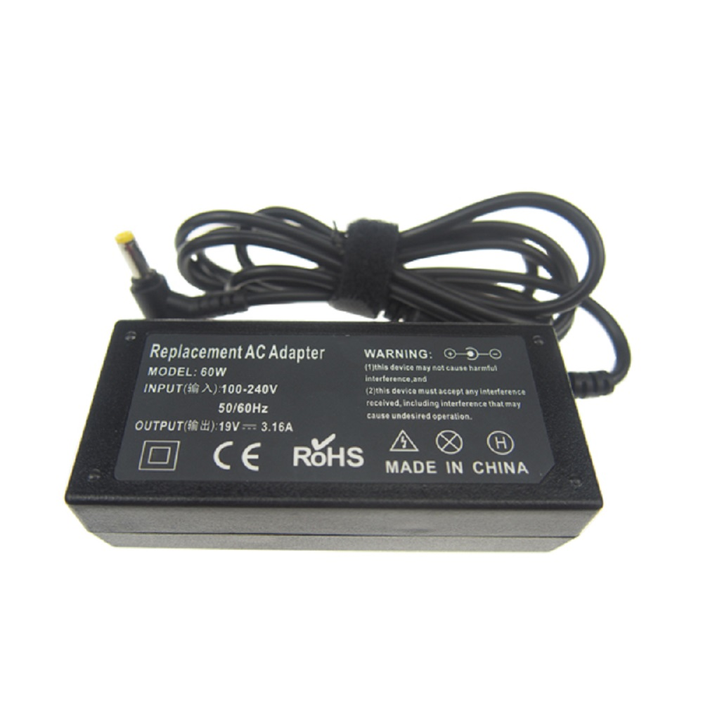 19v 3.16a laptop adapter