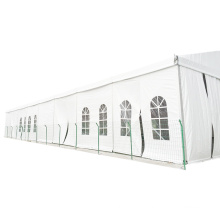 customized size soft pvc walls outdoor Large Aluminum temporary warehouse tent