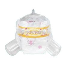 Precioso pañal desechable para bebé con fabricante de pañales de dibujos animados de elefante