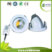 Directo de la fábrica Ronda 85-277V 1850mm 15W giratorio LED Downlight