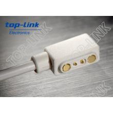 2pin Pogo Pin conector magnético com cabo USB