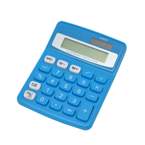 Semi Desktop Electronic Calculator