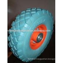 high quality solid pu wheel