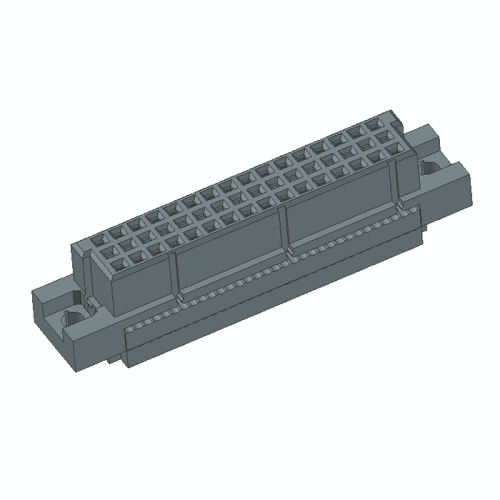 DIN41612 Vertical Female 32P IDC Connectors 3Row