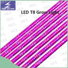 T8 Tube 85-265V 10W 18W LED растут свет