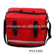 durable first aid bag with multi pockets inside