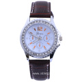 Hot Sale Man Leather Analog Quartz Wrist Watch