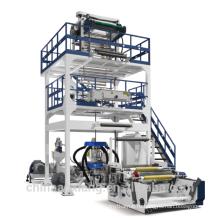 ПВД/ПНД однослойная Co-штранг-прессования полиэтиленовой пленки дуя машина для мешок для мусора