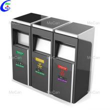 Umweltfreundliche Abfalleimer Intelligente Papierkorb