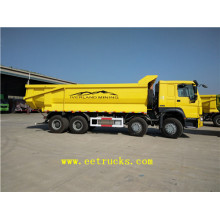 HOWO 12 Wheeler Sand Tipper Trucks