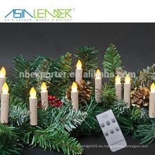 Para Bares Decoración para el Hogar Iglesias Templos Ceremonias Navideñas de Navidad Juego de Luz de Navidad con Mando a Distancia con Clip Extraíble