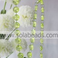 Outdoor 10 * 24 * 24 MM Crystal Acryl Ring Beading Trim
