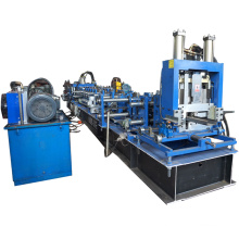 Auto china automatic exchangeable cz purlin shape keel adjustable c z channel roll forming machine for steel