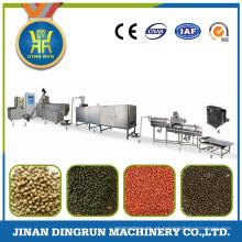 Jinan comida de peixe que faz a máquina