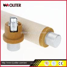 Fabricante Injeção Molten Steel descartável descartável Sampler, Molten Metal Sampler, Molten Iron Sampler