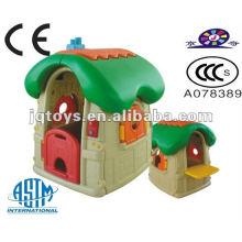 Hotsale Preschool Kids juego de plástico al aire libre Garden House