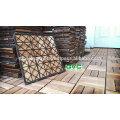 Checker Patterns mit 12 Latten aus Acacia - Langlebige Deck Fliesen 2017