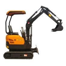 new 1.5 ton mini backhoe crawler excavator price